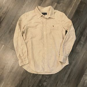 Ralph Lauren Oxford Shirt Boys L 14-16